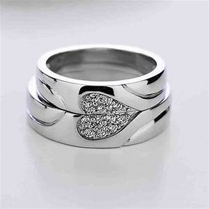 29 best matching wedding bands images on pinterest With silver wedding rings for couples