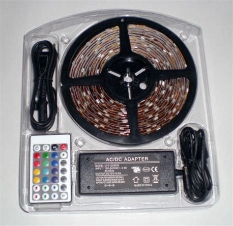 china smd5050 rgb flex led light kit set diy color