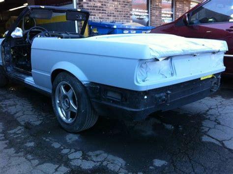 Find Used Bmw E30 330 Mtech 1991 Convertible In Niles