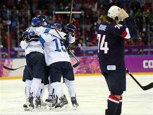 Finland rout sends USA home without hockey medal