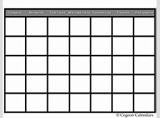 2016 Sunday Through Saturday Calendar Calendar Template 2018