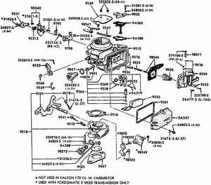 Holley 2 Barrel Carb Diagram