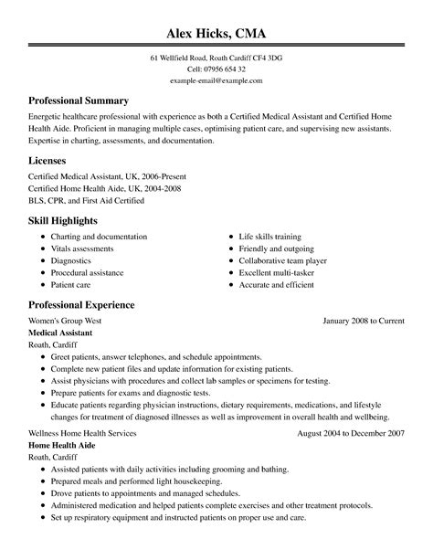 Healthcare Resume by Healthcare Resume Template For Microsoft Word Livecareer