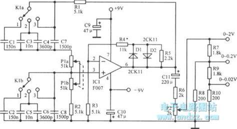 Continuously Variable Voltage Frequency Wien Audio Bridge