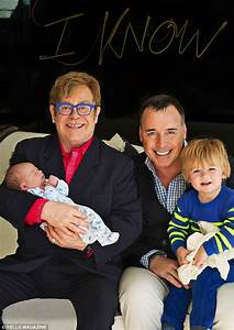 Elton John And His Husband David Furnish, Welcome Their ...