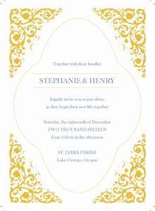 gold wedding clipart 61 With wedding invitation border designs gold