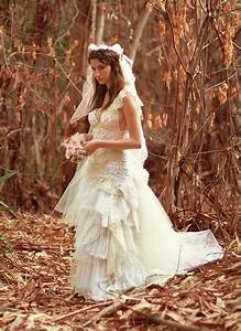 handmade wedding dresses for the unique bride our With nature wedding dress