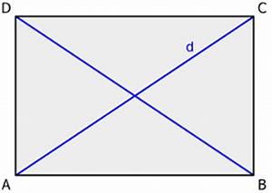 Diagonal Berechnen : rechteck geometrie rechner ~ Themetempest.com Abrechnung