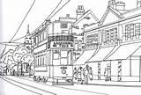 Colouring Tram Birmingham Heath 1948 Kings Route Village Number sketch template