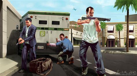 Grand Theft Auto V 4k By Fedota On Deviantart