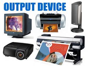 Computer Output Devices Examples