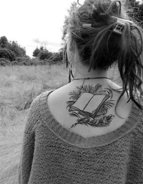 11 Wonderful Book Tattoos On Back