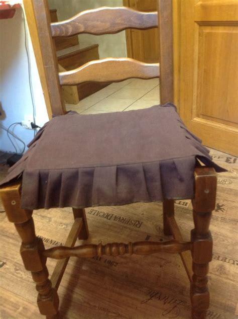 coussin de chaise la couture de