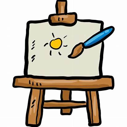 Easel Tools Icon Canvas Painting Paint Tool