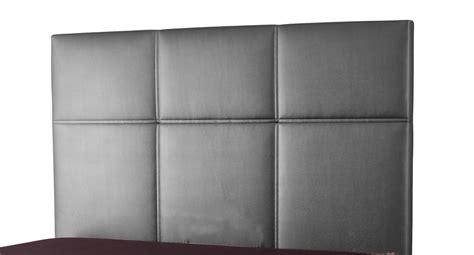 tete de lit lea spagna gris anthracite c 040 l 155 x h 100 x p 7