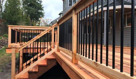 deck railing conrad lumber  portland oregon