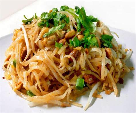 thai noodle recipe noodles pad thai nutrition ramen and noodle