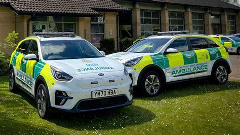 Electric Kias Become Ambulances In UK