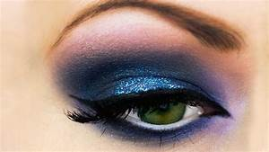 Smokey Eyes Blaue Augen :  ~ Frokenaadalensverden.com Haus und Dekorationen