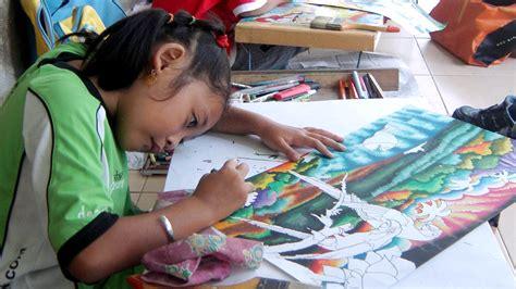 75 gambar untuk mewarnai anak sd kelas 4 terlengkap