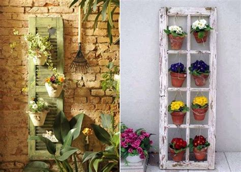 5 Amazing Vertical Garden Ideas From Recycled Items