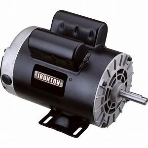 Product  Ironton Compressor Motor  U2014 2 Hp  120v  240v