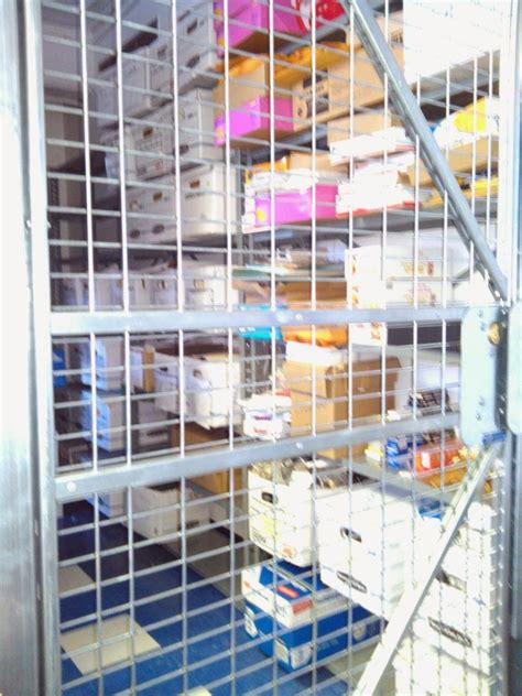 Office Supplies Nyc by Security Cage In Nyc Office Protects Office Supplies Loss