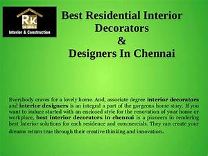best residential interior decorators designers in chennai With interior designers courses in chennai