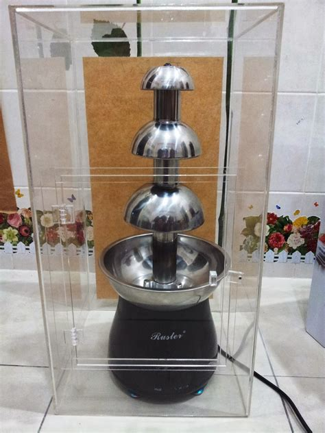 rosedelightshop  chocolate fountain mesin chocolate