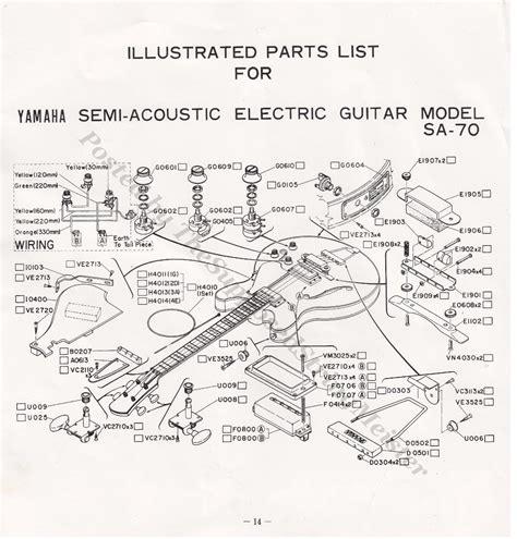 Guitar Wiring Diagram Yamaha Engine Auto