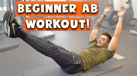 beginner ab workout  men  women  easy  pack