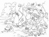 Coloring Cave Dragon Treasure Leviathan Bluebison Sea Dragons Leafy Printable Sloth Sunken Sloths Mountains Ship Colouring Seadragon Clipart Llama Mushrooms sketch template