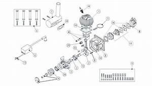 Eme 35cc Gas Engine