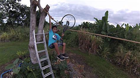 Zipline For Backyard by Backyard Zipline