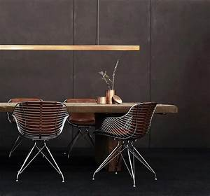 Modern, Design, Wire, Dining, Chairs