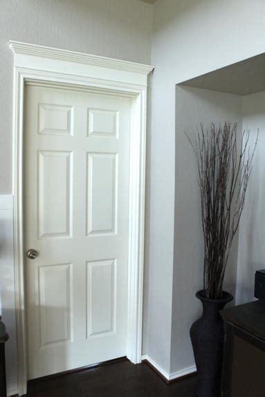 simple crown door molding diyideacentercom