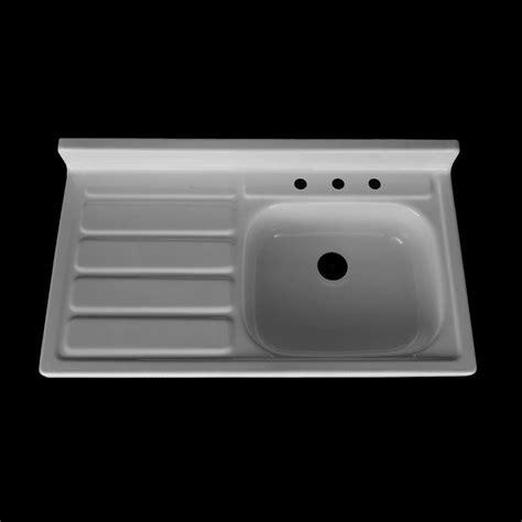 farm sink with drainboard 42 quot x 24 quot single bowl drainboard farmhouse sink