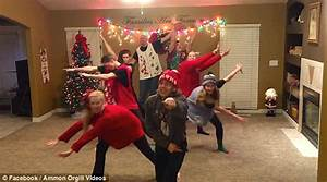 Video shows family perform festive dance in VERY eccentric ...