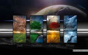 Beautiful Animated Four Seasons Wallpaper | Free Wallpapers