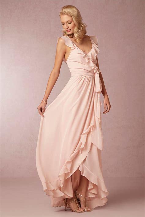 Wedding Trend Blush Bridesmaid Dresses Light Pink