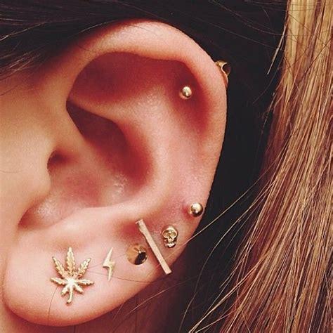 piercing oreille femme piercing pour les oreilles id 233 es de tatouages et piercings