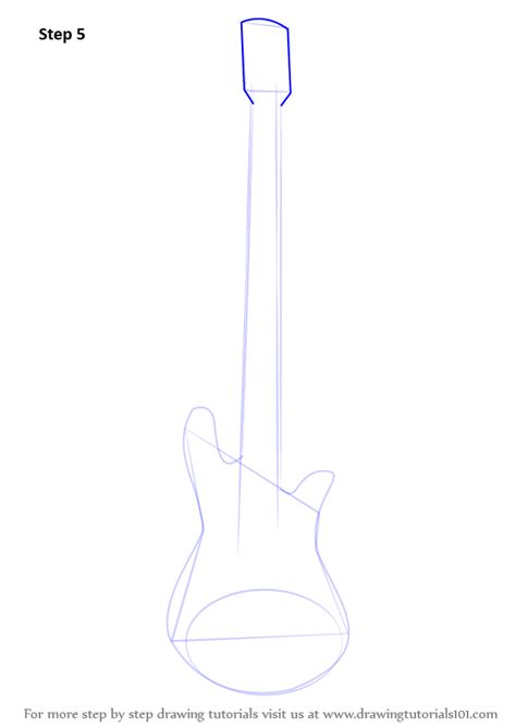 How To Draw A Bass Boat Step By Step by Step By Step How To Draw A Bass Guitar