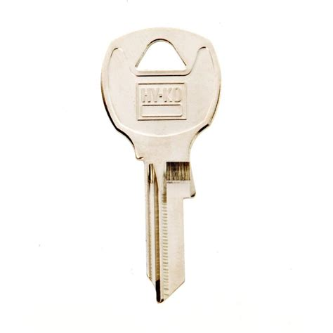 cabinet locks home depot the hillman group 85 blank national cabinet lock key