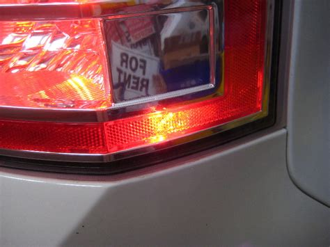 ford edge tail lights ford edge led taillight reflector conversion hidplanet