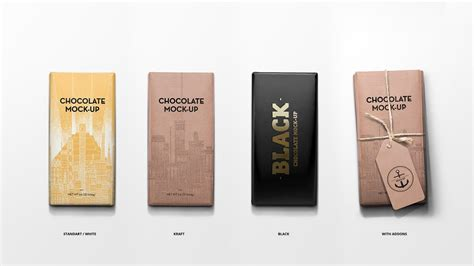 Showcase your design of chocolate bars in a photorealistic look with this bar package mockup set. Mock-Up. Packaging Chocolate. - YouTube