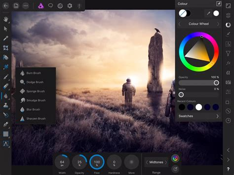 affinity photo  ipad   fully featured image editor visuals producer