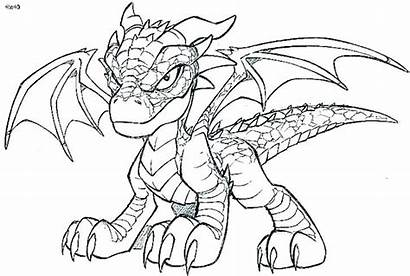 Dragon Coloring Pages Dragons Realistic Awesome Complex