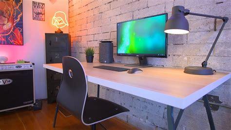computer desks desk setup 1000