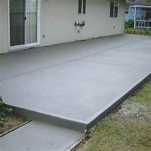 poured concrete patio cost how to calculate concrete needed to pour a slab concrete