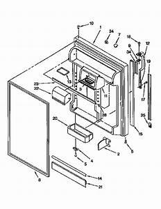 Kenmore 106 9651753 Refrigerator Door Gasket  Mist Beige